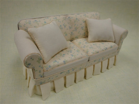 Shabby Chic Yellow Sofa Limited Edition