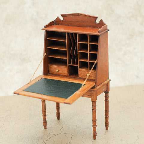 Vintage Secretary Desk by Thomas Wolfert