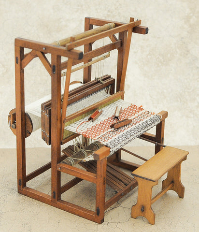 Bert Oldham Weaving Loom