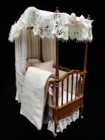 Canopy Crib by Lorraine Scuderi OUT OF STOCK