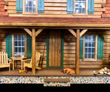 Adirondak Log Cabin Finished Model