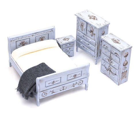 Bedroom Set, Hand Painted by Michele Ambrosic