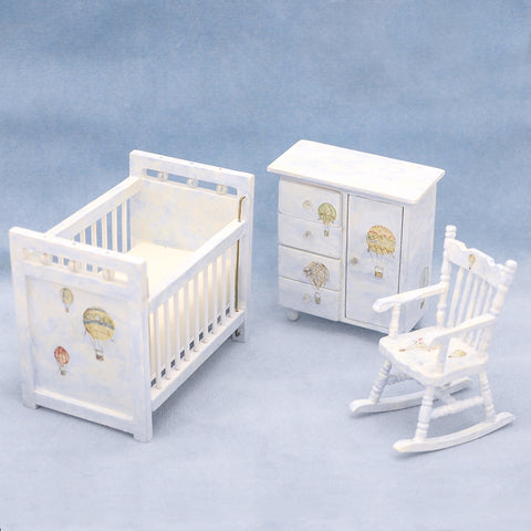 Nursery Set with Air Balloons