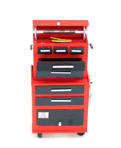 Tall Tool Chest with Tools