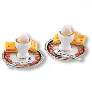 Pair of Egg Cups by Reutter