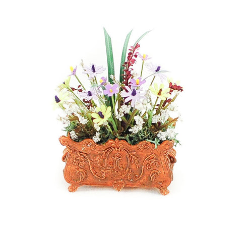 Floral Arrangement in Small Planter