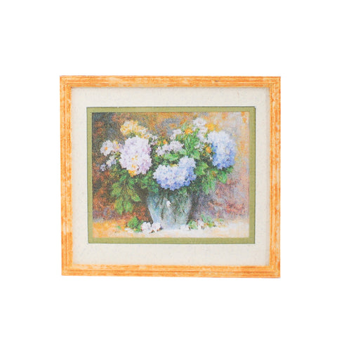 Print, Framed and Matted, Hydrangeas