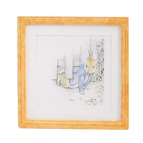 Print, Matted and Framed, Peter Rabbit