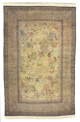 Persian Rug with Fringe,  Style R210