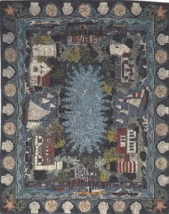 Oriental Rug, Nautical Theme