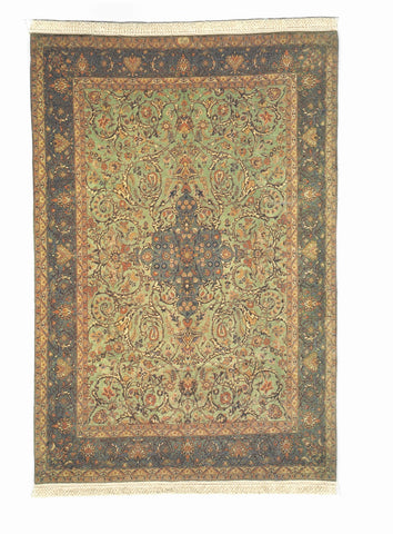 Oriental Rug with Fringe,  Style R225