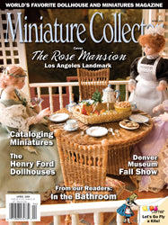 Miniature Collector April 2018