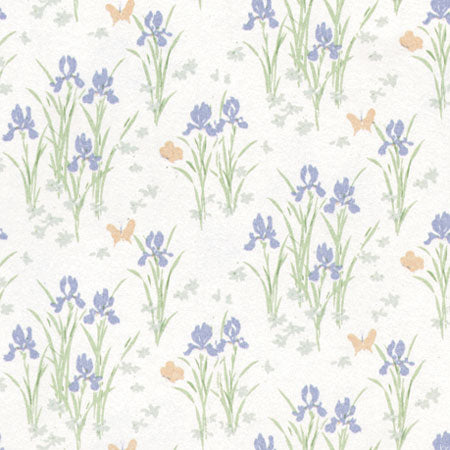 Wallpaper, Mini Iris, Lilac