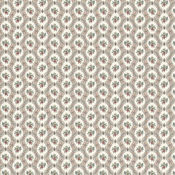 Louis Nichole Ogee Lace Cream Wallpaper