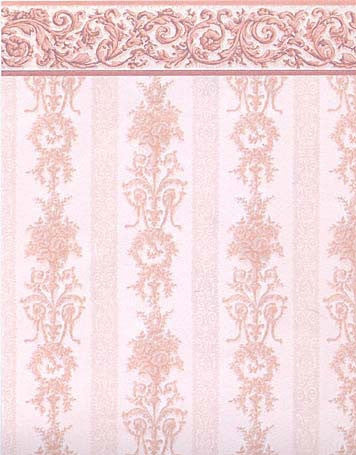 Symphony Stripe Pink Wallpaper