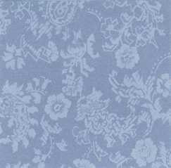 Damask Blue Wallpaper