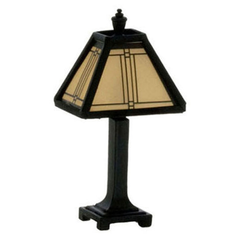 Dark Bronze Tiffany Lamp