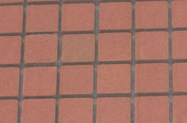 Patio Bricks, Genuine Clay