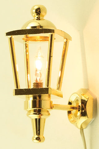 Coach Lamp, Brass Best Seller