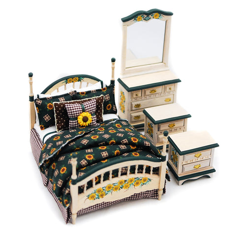 Sun Flower Bedroom Set