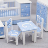 Nursery Set, Five Piece Fishing For The Moon Theme