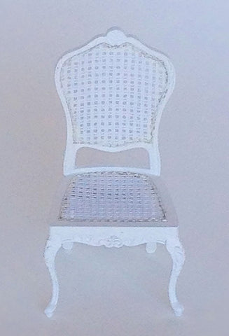 Mimi Cane Chair, White