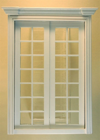 Double French Doors Finished by Majestic Mansions & Double French Doors Finished by Majestic Mansions \u2013 Dollhouse Junction