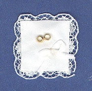 Wedding Ring Set on Pillow