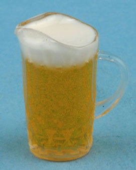 Pitcher of Beer with Froth, 1:12 Miniature Scale