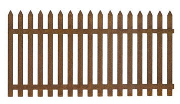 Rusty Picket Fence