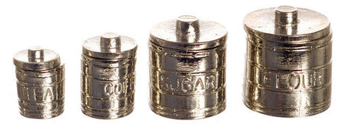Canister Set, Engraved