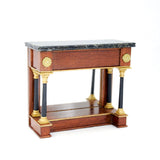 Pier Table with Marble Top