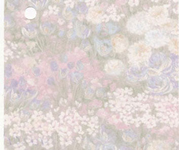 Summer Garden Pastels  Prepasted Wallpaper