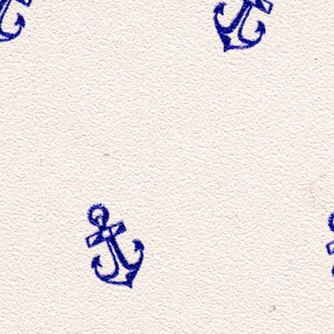 Blue Anchors Prepasted Wallpaper
