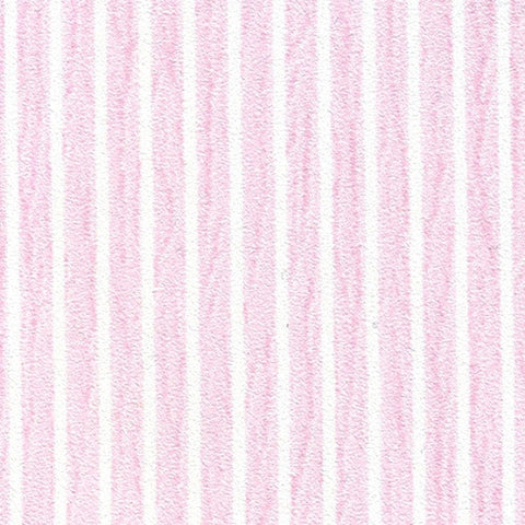 Tiny Pink and White Striped Prepasted Wallpaper