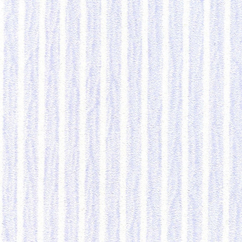Tiny Lavendar Blue Striped Prepasted Wallpaper