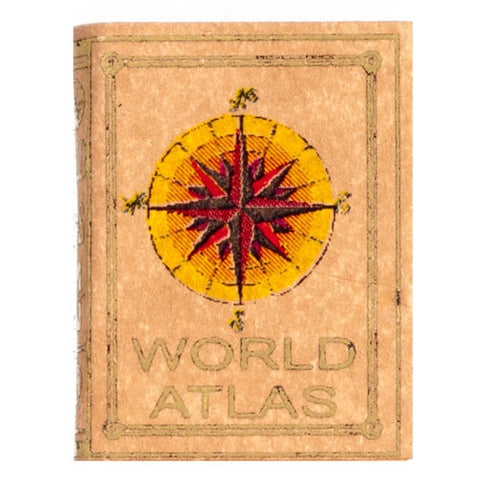 World Atlas, Leather Bound
