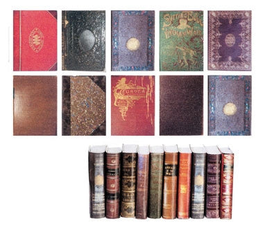 Set of Antique Books, 10 Piece, Series No. 1