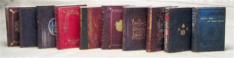 Antique Books, Set of 10, Series No. 3