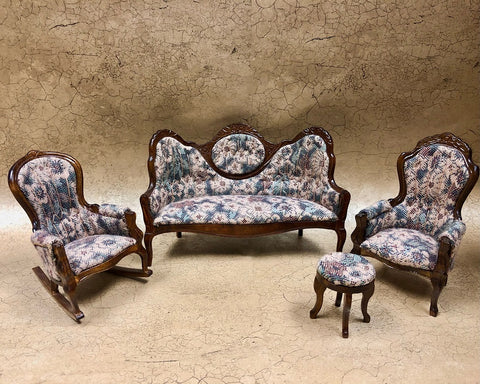 Vintage Victorian Living Room Set