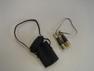 Watch Glass Binoculars and Case