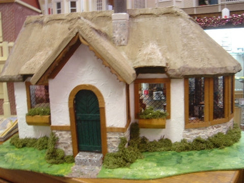 Irish Cottage with Faux Thatch Roof