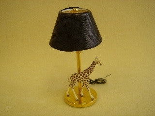 Table Lamp with Giraffe