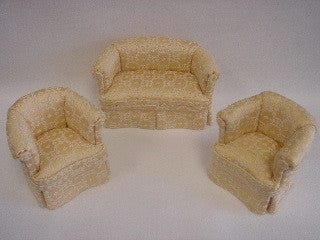 Golden Suite Sofa and Chairs Set - Limited Edition
