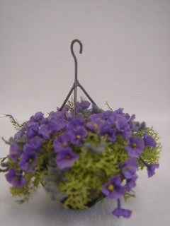 Hanging Purple Petunia