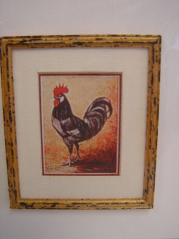 Print, Rooster
