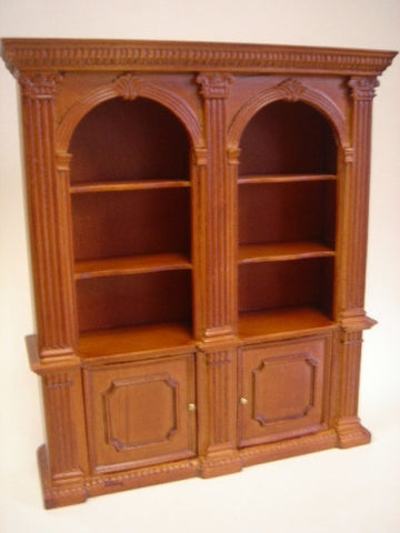 Book Case, Randall Double, New Walnut