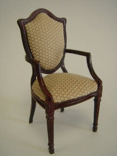 Gabrielle Arm Chair, Mahogany
