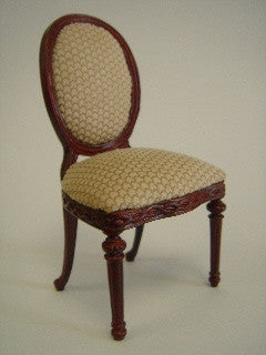 Gabrielle Side Chair, Mahogany