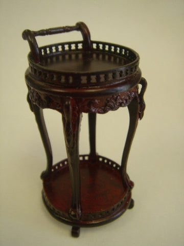 Tea Room Service Stand, Mahogany SOLD OUT